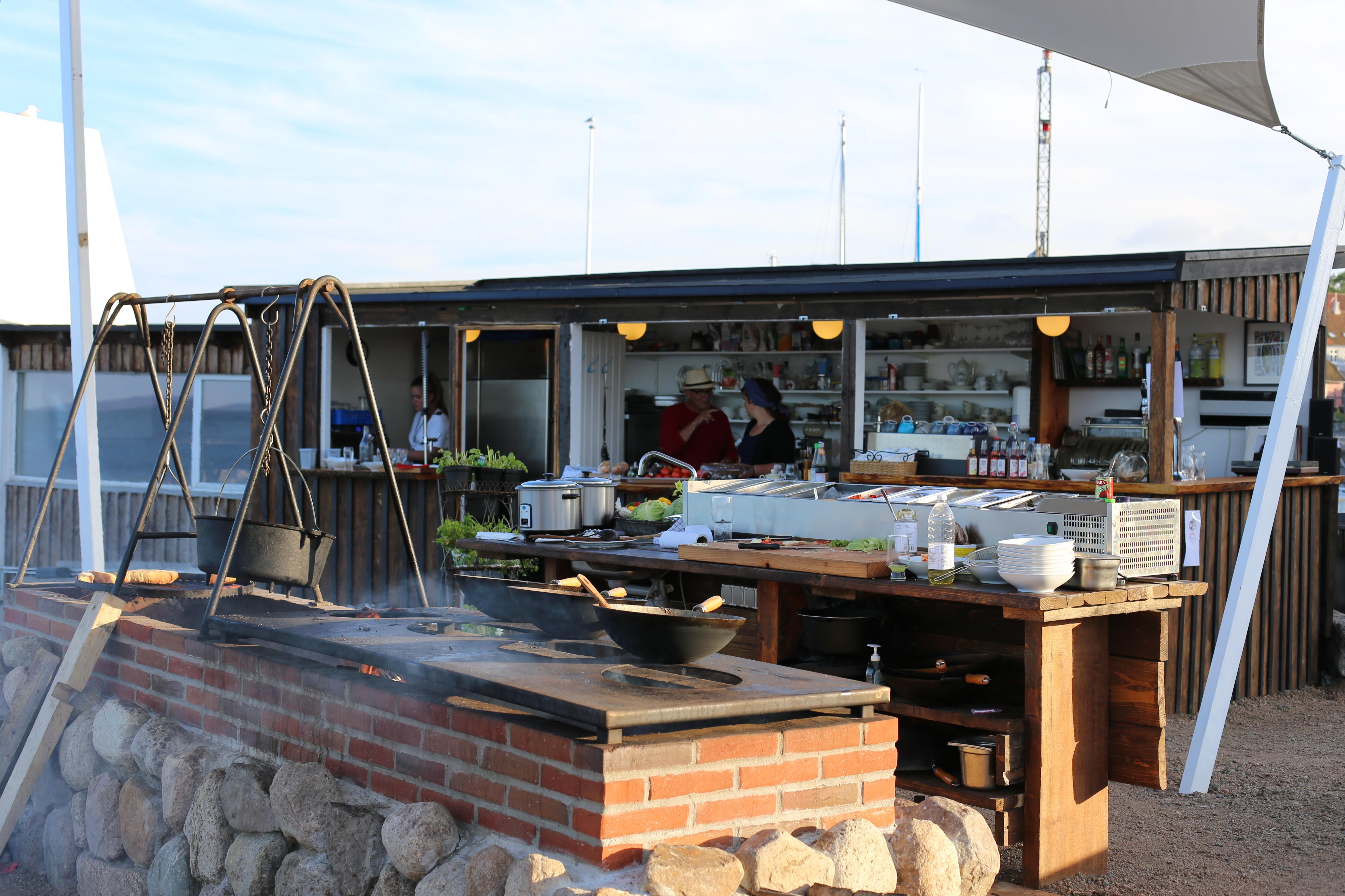 Offene Küche am Meer … Wow!!! | Bornholm my love