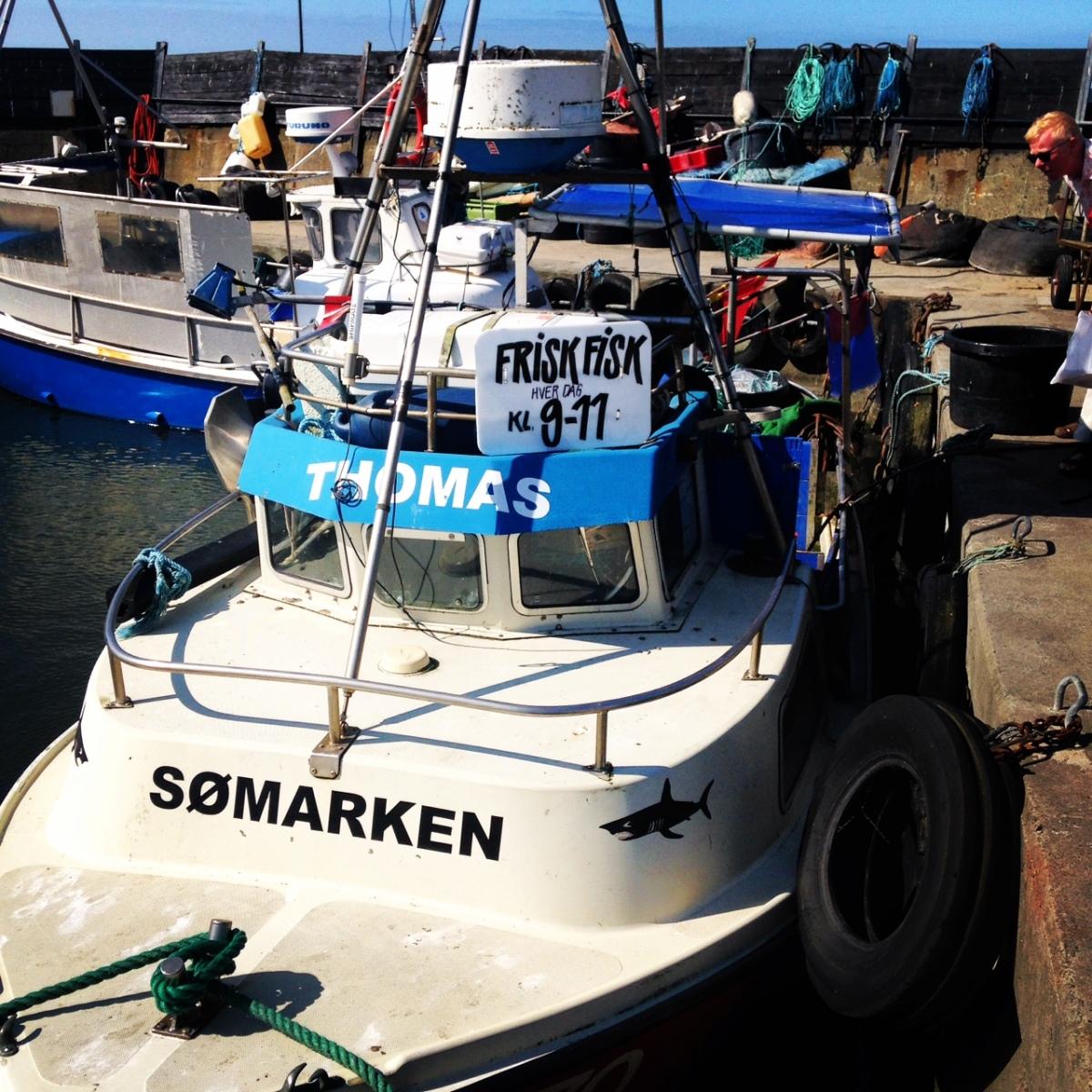 Fangfrisch ins Ferienhaus: Frischer Fisch direkt vom Kutter!