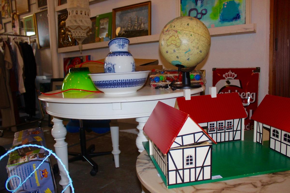 Jeden Tag Flohmarkt: Erster Second-Hand-Supermarkt in Nexø eröffnet
