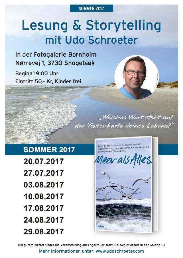 Lesungsplakat_Bornholm_Udo Schroeter_2017-2
