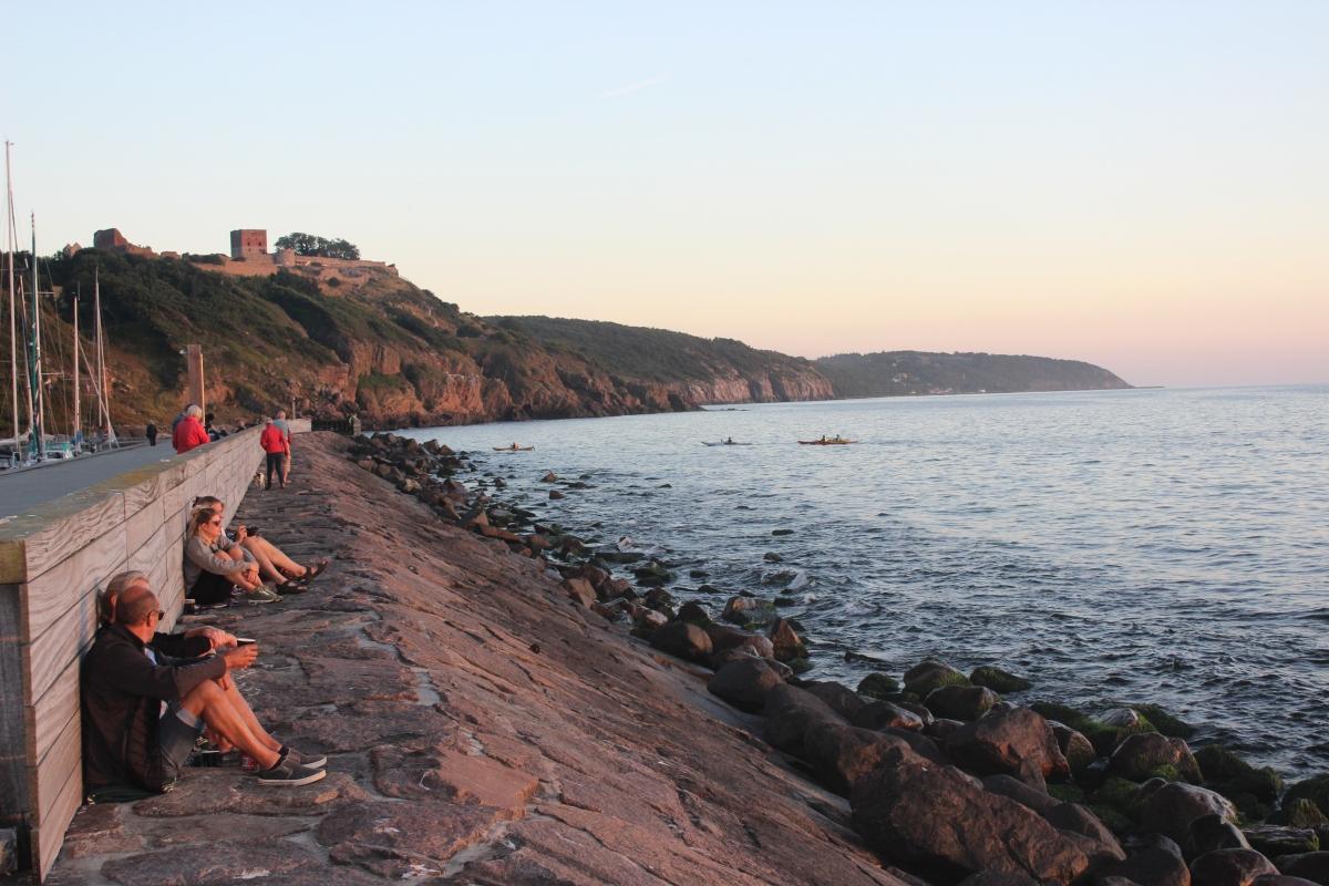 Abend-Hygge pur: Sonnenuntergang am Hammerhafen
