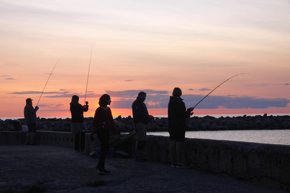 Abend-Hygge Teil 2 : Sonnenuntergang, Turmspringen & Heringe in Vang
